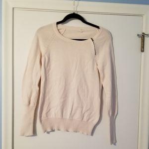J crew cream sweater